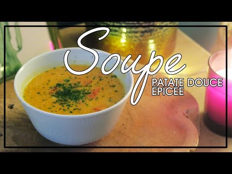 soupe-patate-douce-épicée-#minuteveggie