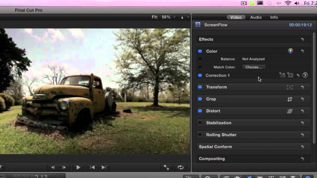how to do a voiceover on final cut pro