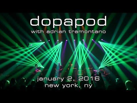 Dopapod: 2016-01-02 - Gramercy Theatre; New York, NY [4K]