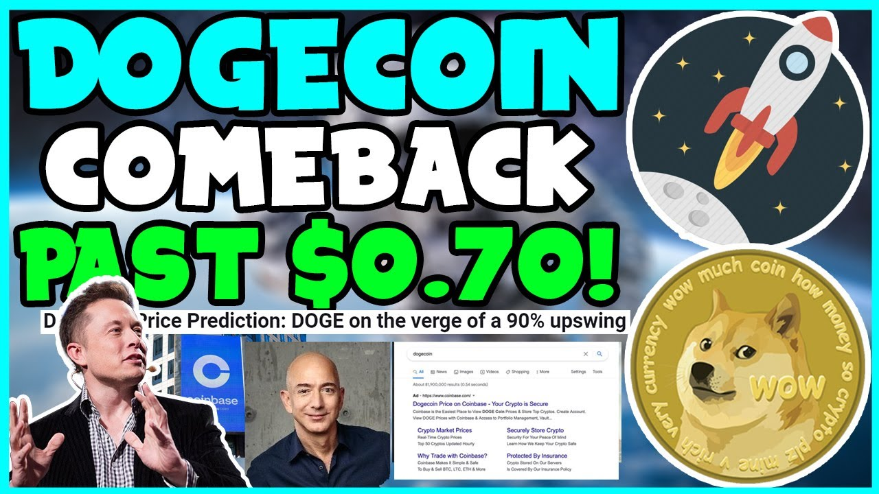 *URGENT* NEWS FOR ALL DOGECOIN INVESTORS FAST! (GREAT NEWS ...