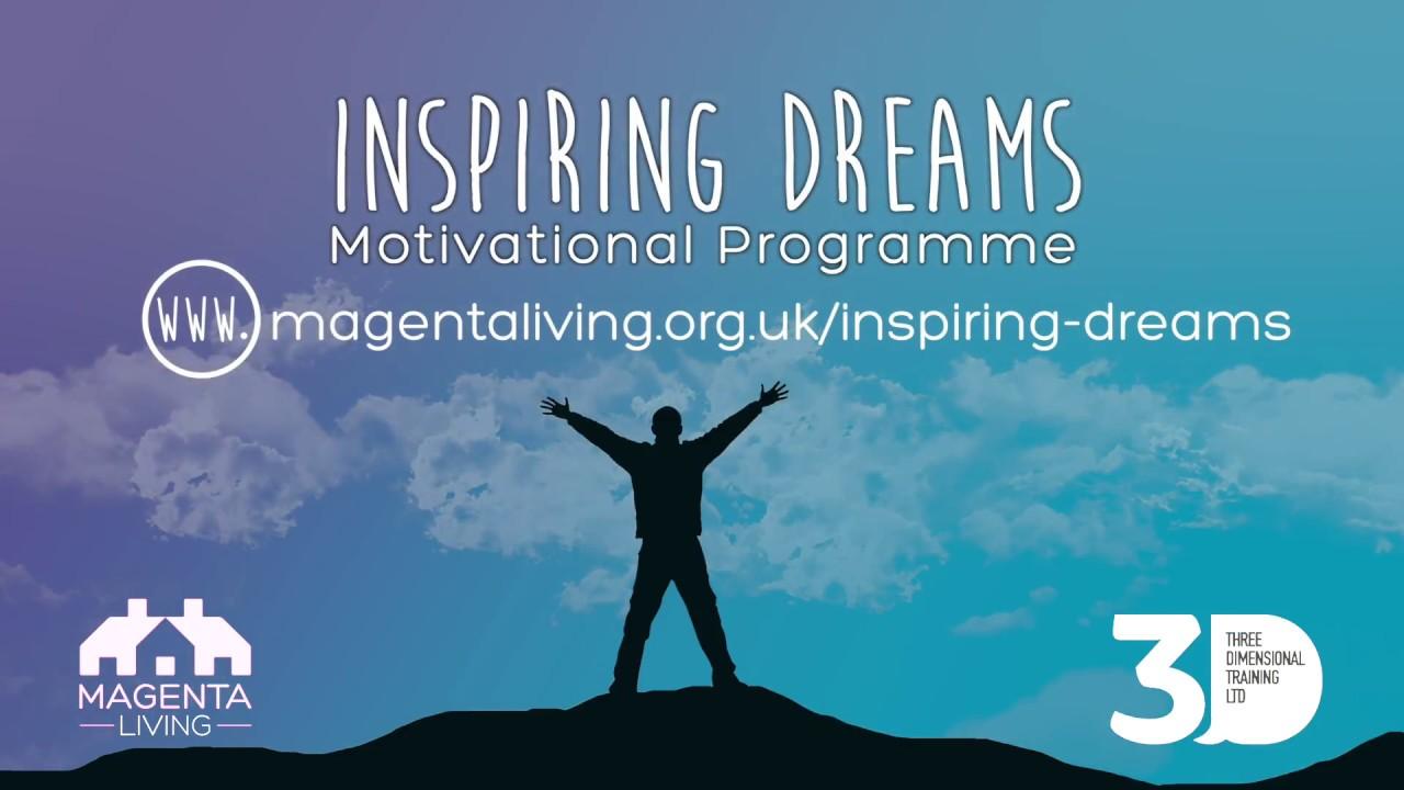 inspiring dreams magenta living