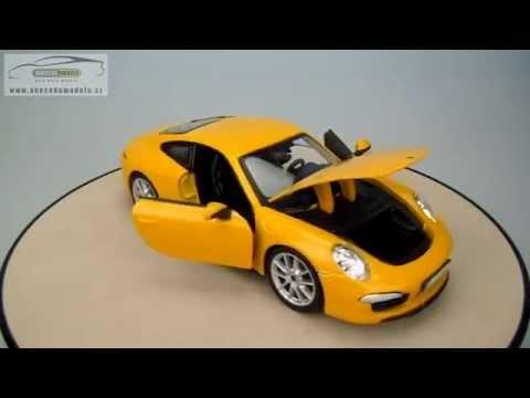 porsche 911 carrera s bburago 1 24 youtube. Black Bedroom Furniture Sets. Home Design Ideas