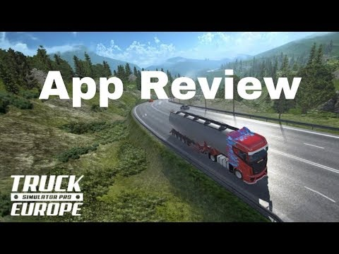 Truck Simulator pro EU App on iPad 6th generation 2018