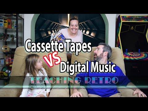 Cassette Tapes vs Digital Music
