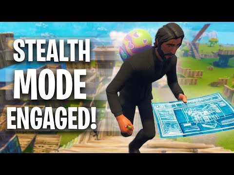 LANDING BEHIND ENEMY LINES! *50v50 V2 WAR MODE!* | Fortnite