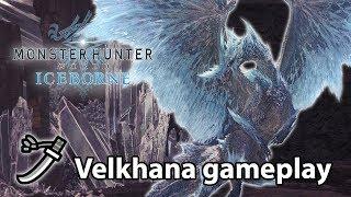 MHW: Iceborne | Velkhana solo gameplay (Long Sword)