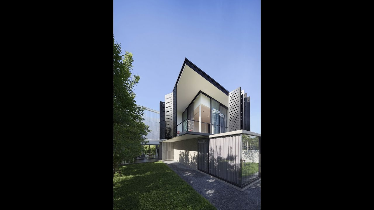 Amazing modern house design with high level security home for Amazing modern houses