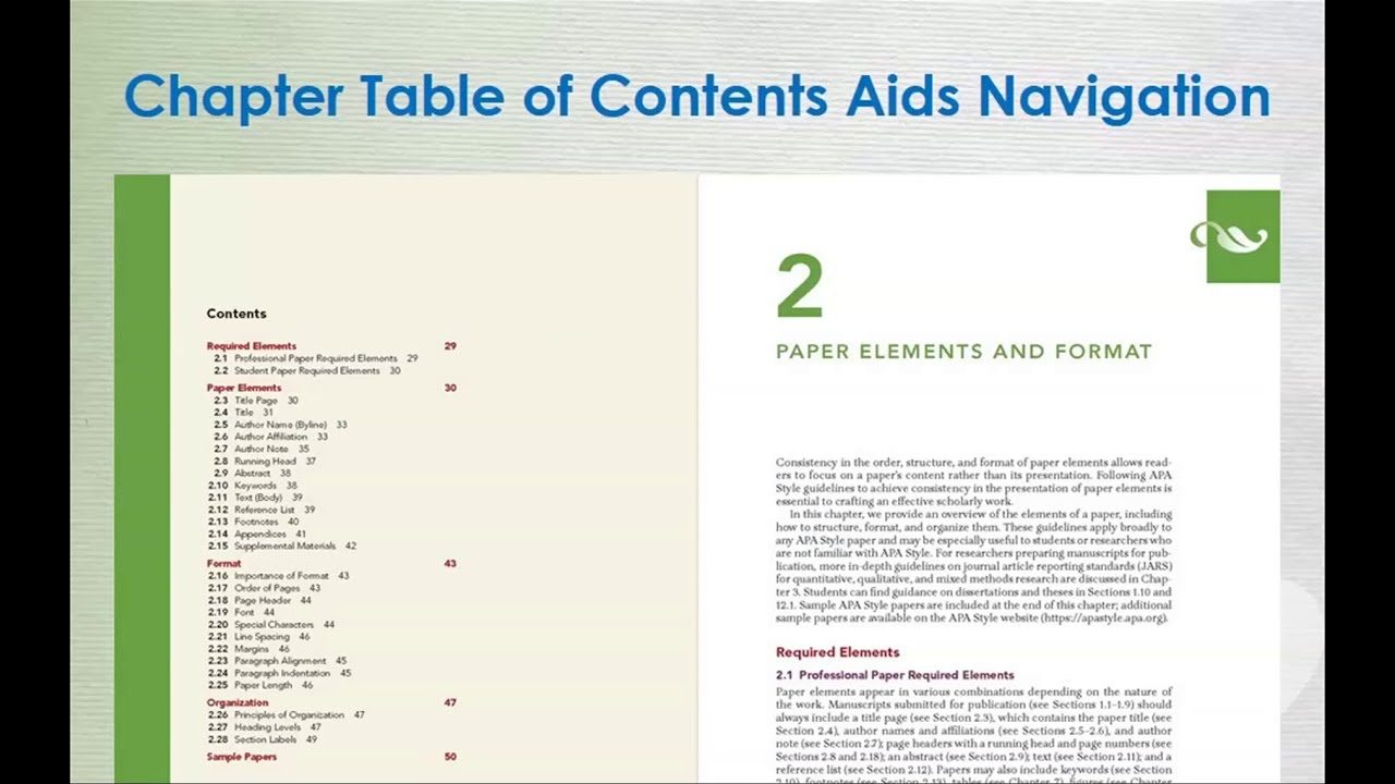Apa 7th Citation Guide Research At The Florida State University How To Cite Chapter In Book Edition