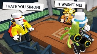 CHEATING IN YOUTUBER SIMON SAYS! (Roblox Murder Mystery 2)