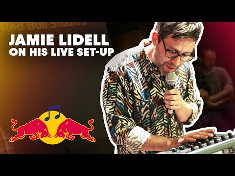 Studio Science: Jamie Lidell on his live set-up | Red Bull Music Academy