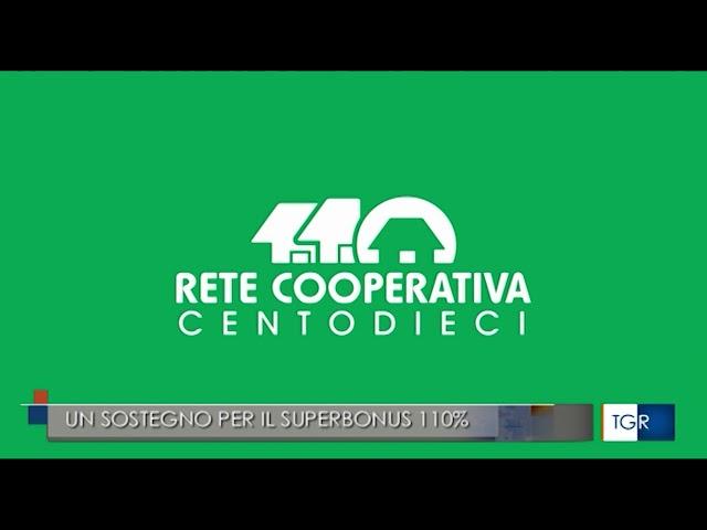 Parte Rete cooperativa 110%  Tgr RAI