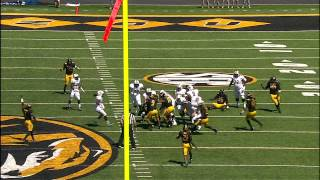 Mizzou vs UCF Highlight: Josh Augusta Interception