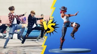 ALL FORTNITE DANCES/EMOTES IN REAL LIFE [ SEASON 6 ]