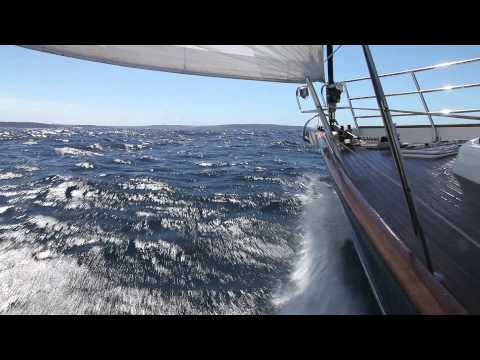 Beneteau 57, The Count, off Sydney Heads   Feb 2014