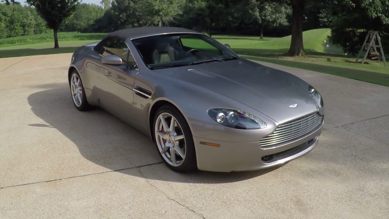 West TN Aston Martin Vantage Roadster Convertible V For Sale - Aston martin v8 for sale