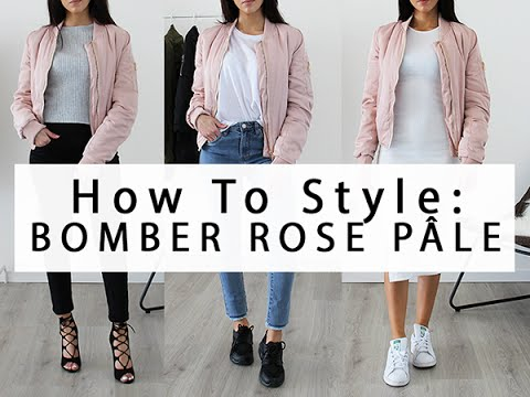how to style bomber jacket comment porter le bomber. Black Bedroom Furniture Sets. Home Design Ideas