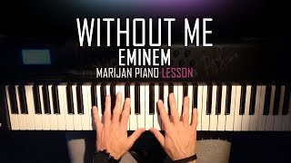 How To Play Eminem Without Me Piano Tutorial Lesson Sheets.mp3