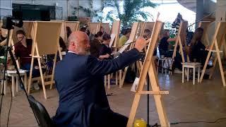 Запах цветка  Мастер класс Сергея Андрияки