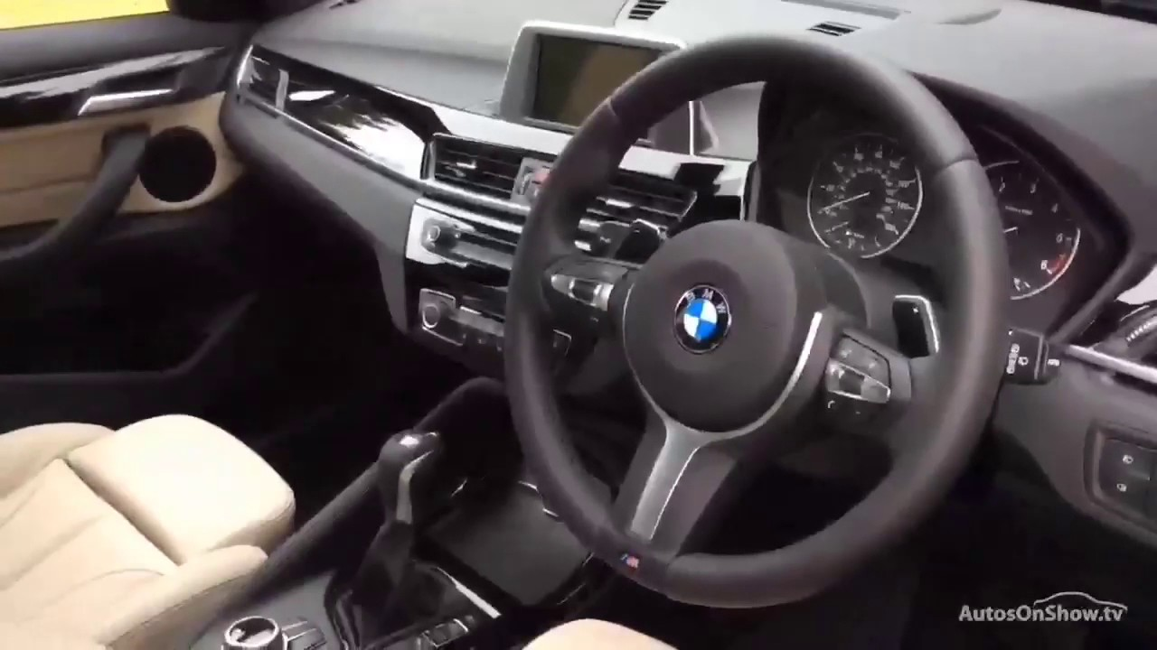 bmw x1 xdrive20d m sport grey 2017 youtube. Black Bedroom Furniture Sets. Home Design Ideas
