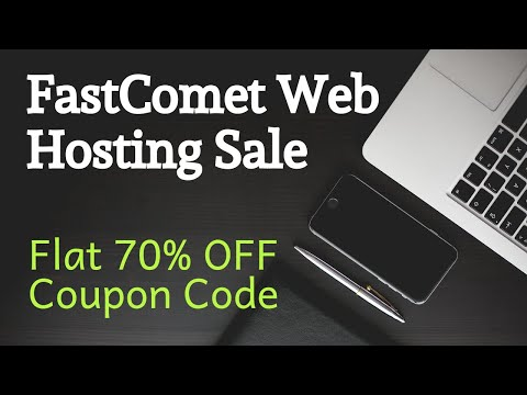 FastComet Coupon Code 2019 [70% OFF] Best WordPress Hosting in India | Fast Loading Web Hosting 2020