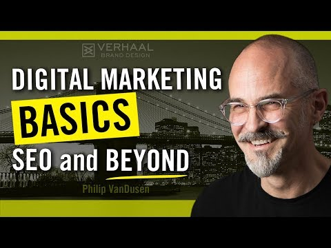 Digital Marketing Basics, SEO and Beyond for Designers and Entrepreneurs