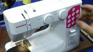 Обучение работе на швейной машинке Family