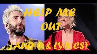 Maroon 5 Julia Michaels Help Me Out Lyrics Audio.mp3