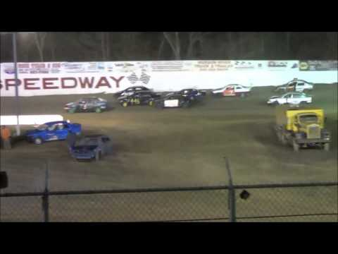 Accord Speedway Enduro- Gobbler, stands view 12-3-2016