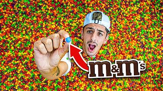 Find the M&M in Skittles Pool, Win $10,000  Challenge
