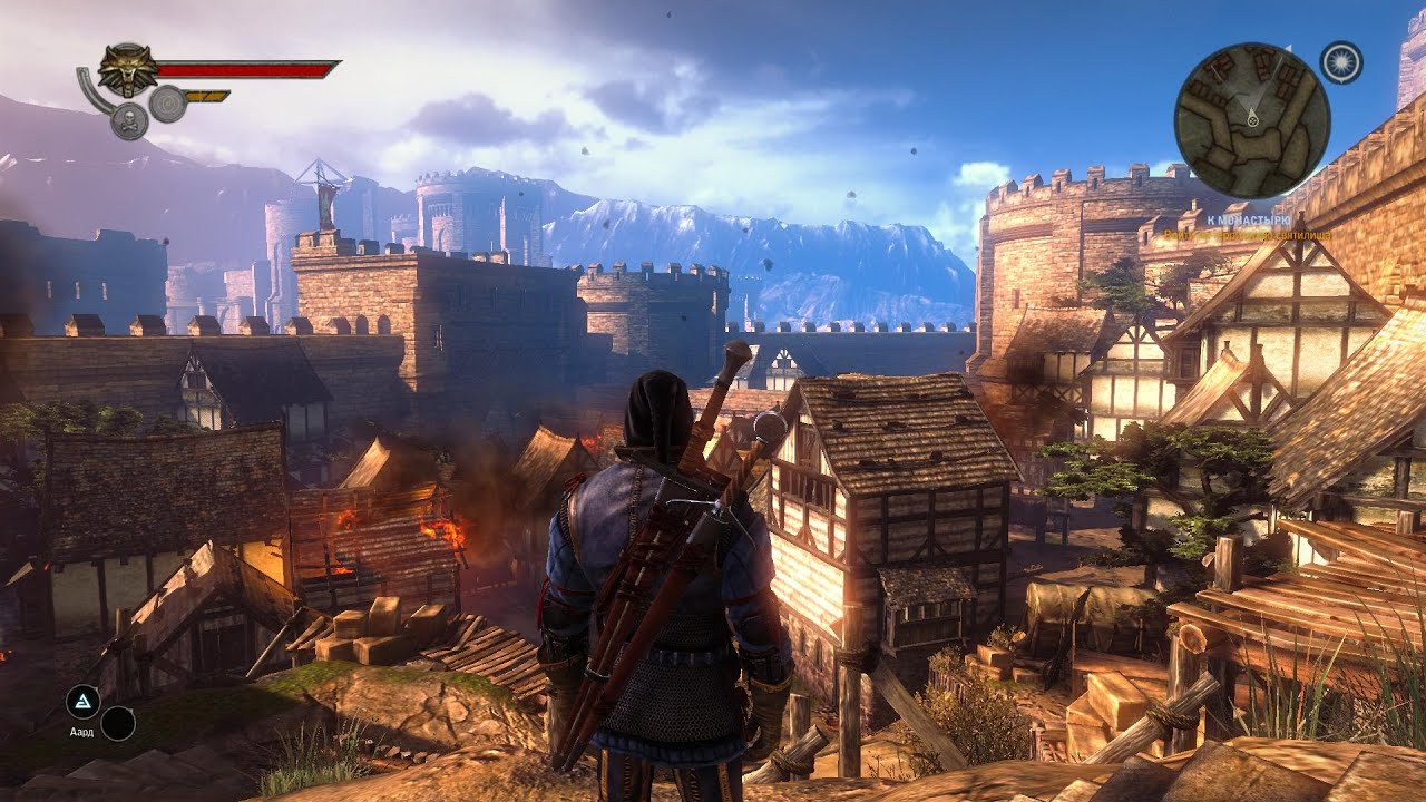 how to change graphics in witcher 2