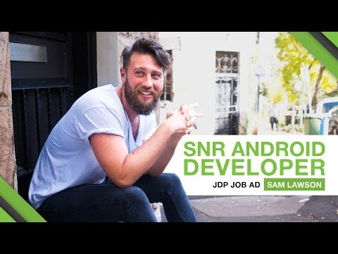 THIS IS A JOB AD - SENIOR ANDROID DEVELOPER (Sydney)