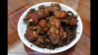 香港食譜:梅乾菜炆豬手