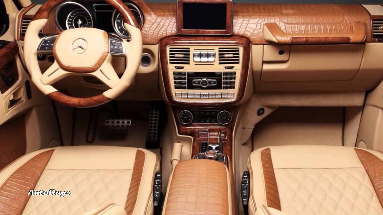 Hamann Mercedes Benz G65 AMG Crocodile Leather Interior ...