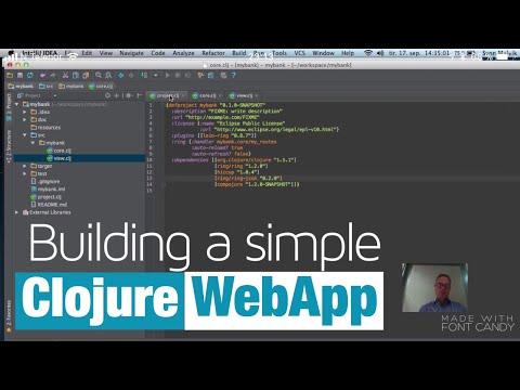 Starting Clojure - Web Application Intro...