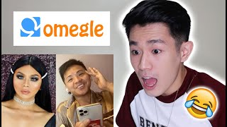 Omegle for the 1st time HAHAHA nakita ko si john fedellaga! =))