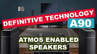 Home Theater Vlog: Elias' Definitive Technology A90 Atmos Enabled Speakers Review/ Impressions