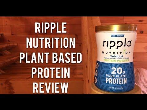Honest Reviews: Ripple Nutrition Plant Based Protein - Vanilla
