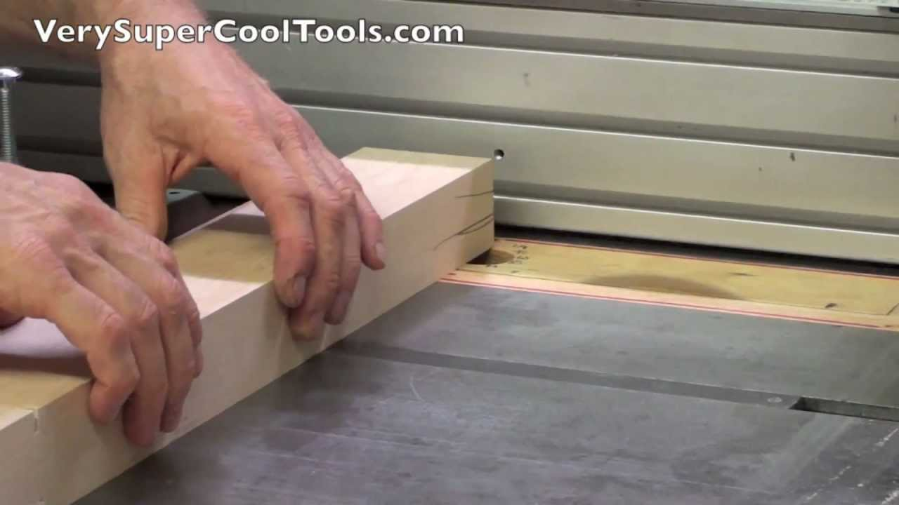 Verysupercool Table Saw Fence Used As A Stop Aluminum Extrusion