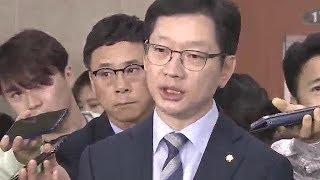 회견 취소→불출마설→출마 선언, 김경수 '오락가락 8시간'