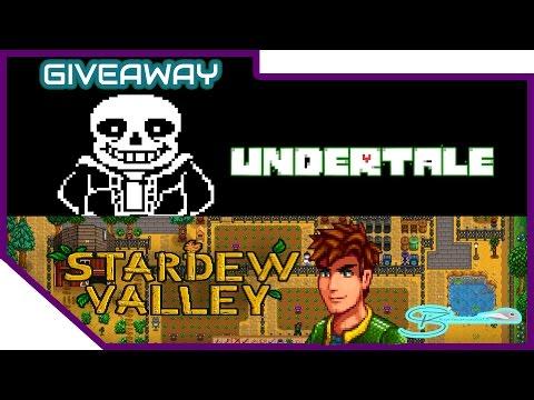 Steam Giveaway #26] Stardew Valley & Undertale   May 2017