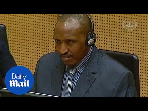 Bosco Ntaganda appears at The Hague on charges of war crimes - Daily Mail