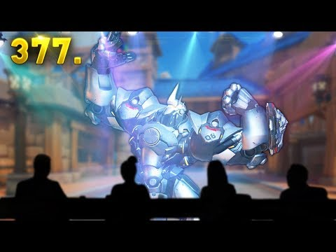 SUPER STAR Reinhardt..!! | Overwatch Daily Moments Ep. 377 (Funny and Random Moments)