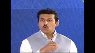 India Ka DNA Conclave - Parties who opposed each other are uniting against us: Rajyavardhan Rathore