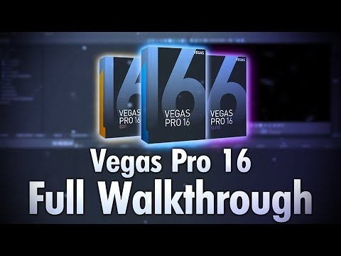 Vegas Pro 16 Released! (Full Walkthrough)