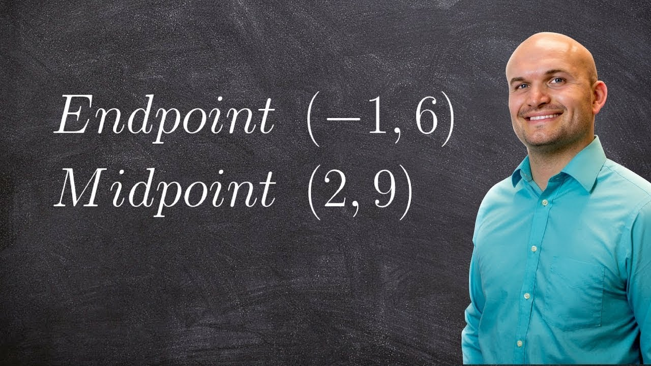 Geometry - Find the endpoint given one endpoint and midpoint ...