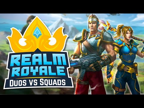 DUOS vs SQUADS in Realm Royale! (Baggins + Thor)