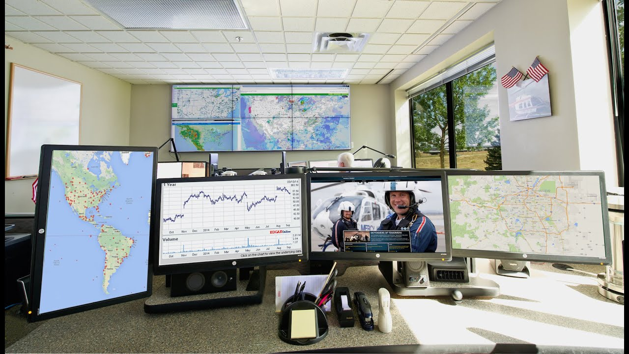 Air Methods Operations Control Center Youtube