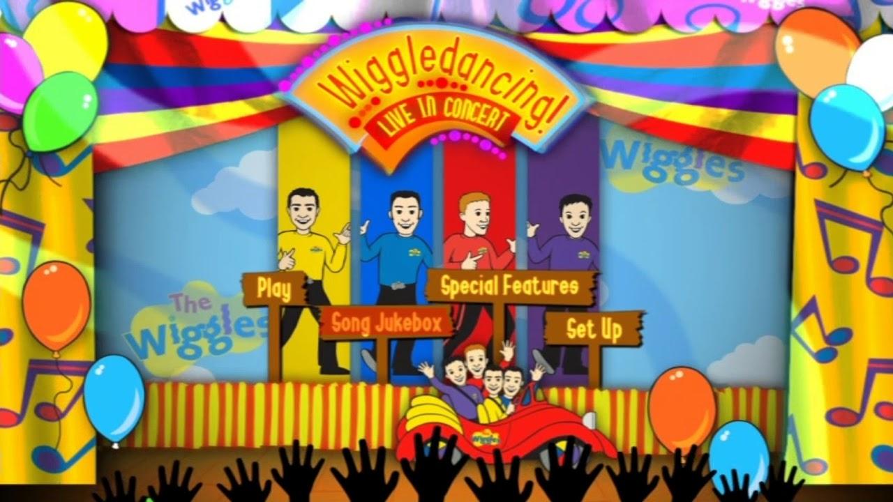 Wiggledancing! LIVE UK DVD Menus 2008