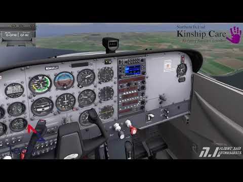 NI Flight Sim Enthusiasts, Group Flight NI and Alpha tech presents Kinship Care NI Fundraising event