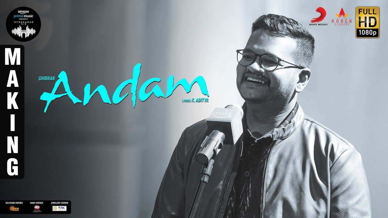 Amazon Prime Music Hyderabad Gig | Andam BTS | Ghibran